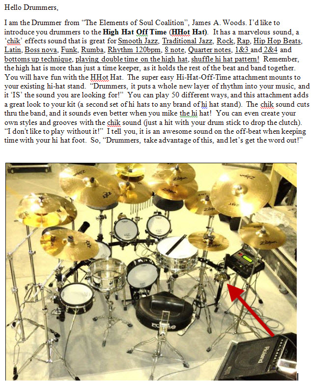 Classic Drummer Article